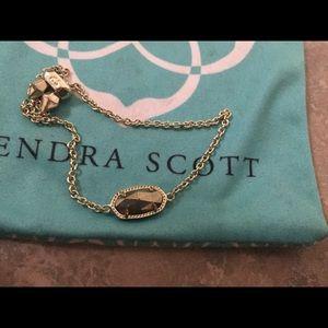 Kendra Scott Adjustable Slate Elisa Bracelet